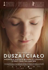 """Poster z filmu """"Dusza i ciało"""""""