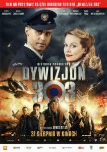"""Plakat filmu """"Dywizjon 303. Historia prawdziwa"""""""