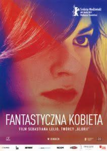 """Plakat filmu """"Fantastyczna kobieta"""""""