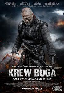 """Poster z filmu """"Krew Boga"""""""