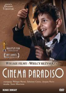 "Plakat filmu ""Cinema Paradiso"""