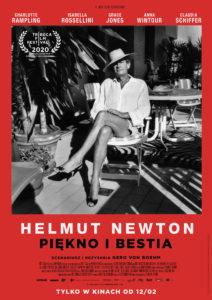 """Plakat filmu """"Helmut Newton. Piękno i bestia"""""""