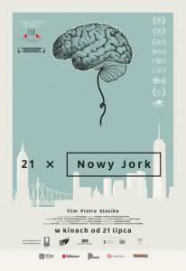 "Plakat filmu ""21 x Nowy Jork"""