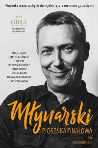 """Poster z filmu """"Młynarski. Piosenka finałowa"""""""