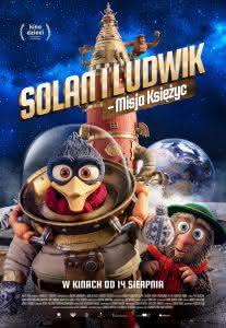 "Plakat filmu ""Solan i Ludwik - Misja Księżyc"""