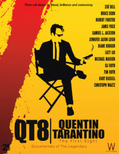 "Plakat filmu ""Tarantino. Bękart kina"""